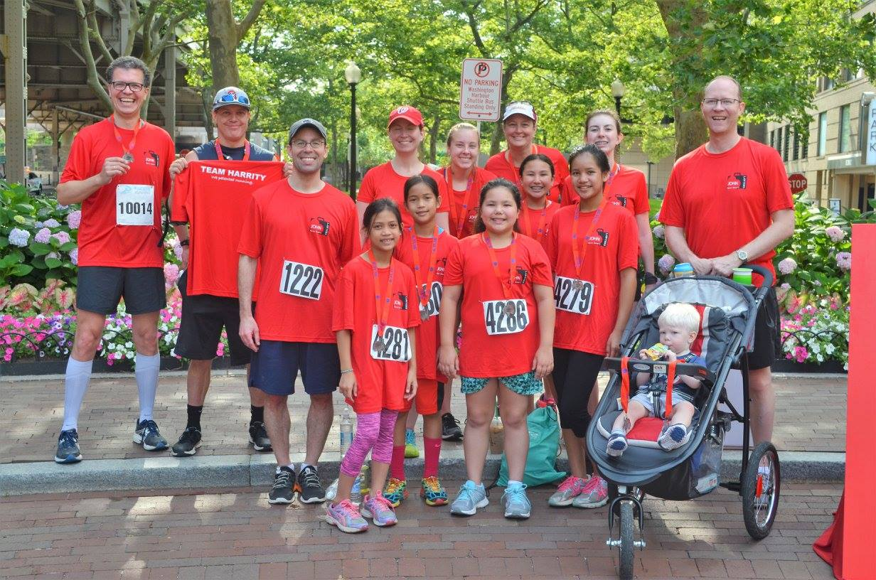 Harrity Participates in Annual Lawyers Have Heart 10k Race