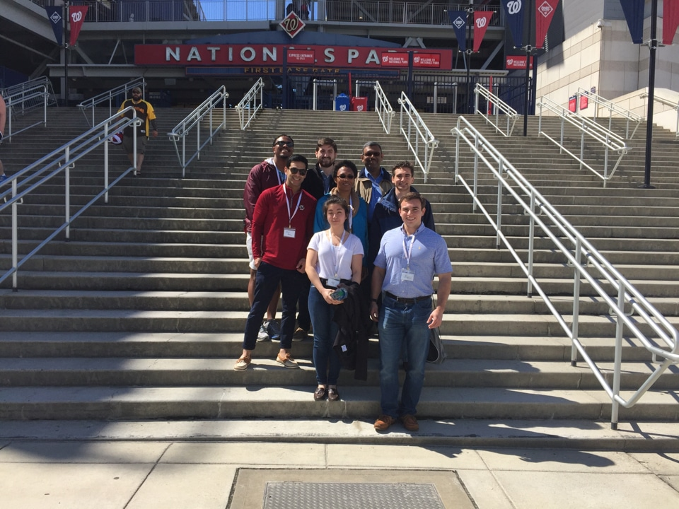 Diversity Workshop Participants at Nationals Park